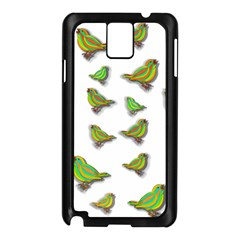Birds Samsung Galaxy Note 3 N9005 Case (Black)