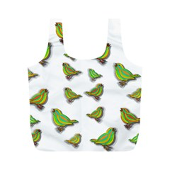 Birds Full Print Recycle Bags (M)