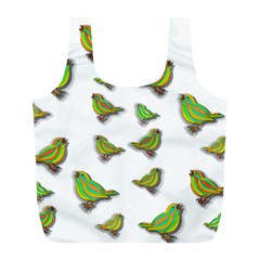 Birds Full Print Recycle Bags (L)