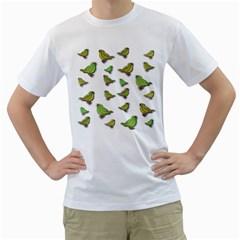 Birds Men s T-Shirt (White)