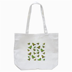 Birds Tote Bag (White)