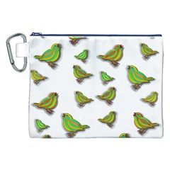 Birds Canvas Cosmetic Bag (XXL)