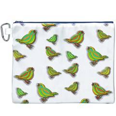 Birds Canvas Cosmetic Bag (XXXL)