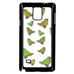 Birds Samsung Galaxy Note 4 Case (Black)