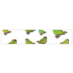 Birds Flano Scarf (Small)