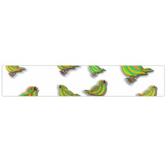 Birds Flano Scarf (Large)