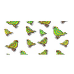 Birds Satin Wrap