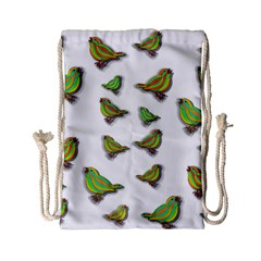 Birds Drawstring Bag (Small)