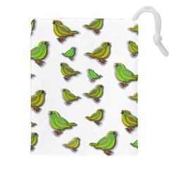 Birds Drawstring Pouches (XXL)