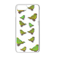 Birds Apple iPhone 7 Plus White Seamless Case