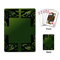Celtic Corners Playing Card