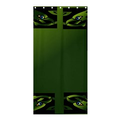 Celtic Corners Shower Curtain 36  X 72  (stall)