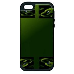 Celtic Corners Apple iPhone 5 Hardshell Case (PC+Silicone)