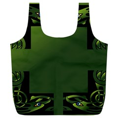 Celtic Corners Full Print Recycle Bags (L)