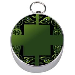Celtic Corners Silver Compasses