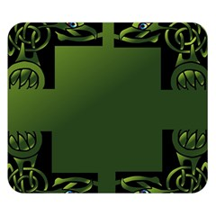 Celtic Corners Double Sided Flano Blanket (Small)