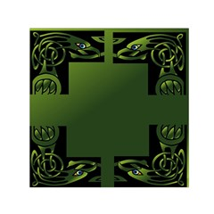 Celtic Corners Small Satin Scarf (Square)
