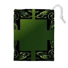 Celtic Corners Drawstring Pouches (Extra Large)