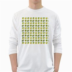 St Patrick S Day Background Symbols White Long Sleeve T-Shirts
