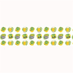 St Patrick s Day Background Symbols Large Bar Mats