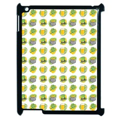 St Patrick s Day Background Symbols Apple Ipad 2 Case (black)