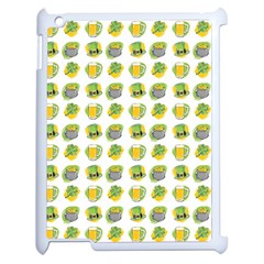 St Patrick S Day Background Symbols Apple iPad 2 Case (White)