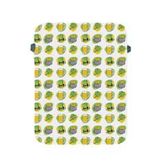 St Patrick s Day Background Symbols Apple Ipad 2/3/4 Protective Soft Cases