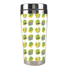 St Patrick S Day Background Symbols Stainless Steel Travel Tumblers