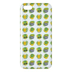 St Patrick S Day Background Symbols iPhone 5S/ SE Premium Hardshell Case