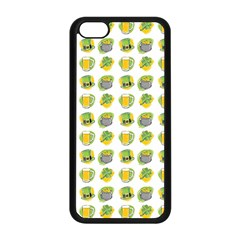St Patrick S Day Background Symbols Apple iPhone 5C Seamless Case (Black)