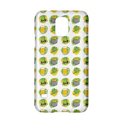 St Patrick S Day Background Symbols Samsung Galaxy S5 Hardshell Case