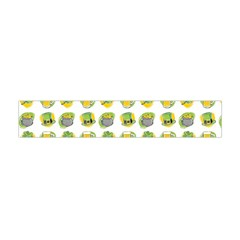 St Patrick S Day Background Symbols Flano Scarf (Mini)