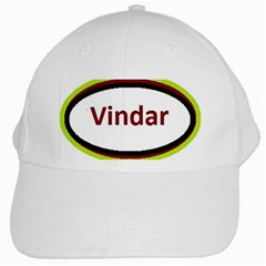 Vin Cow White Cap