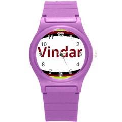 Vin Cow Round Plastic Sport Watch (S)