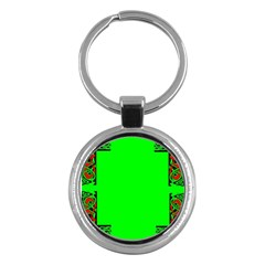 Decorative Corners Key Chains (Round)