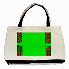 Decorative Corners Basic Tote Bag (Two Sides)