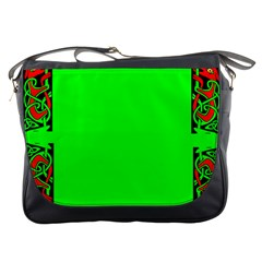 Decorative Corners Messenger Bags