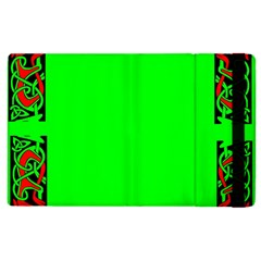 Decorative Corners Apple Ipad 3/4 Flip Case