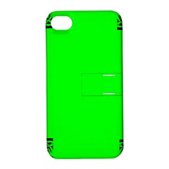 Decorative Corners Apple iPhone 4/4S Hardshell Case with Stand