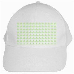 Shamrock Irish St Patrick S Day White Cap