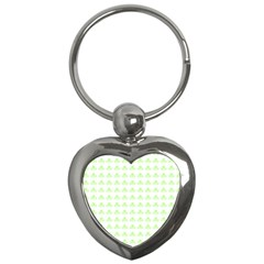 Shamrock Irish St Patrick S Day Key Chains (Heart)