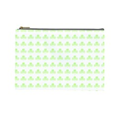 Shamrock Irish St Patrick S Day Cosmetic Bag (large)