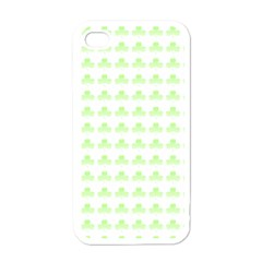 Shamrock Irish St Patrick S Day Apple iPhone 4 Case (White)