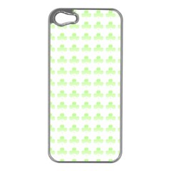 Shamrock Irish St Patrick S Day Apple iPhone 5 Case (Silver)