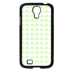Shamrock Irish St Patrick S Day Samsung Galaxy S4 I9500/ I9505 Case (Black)
