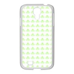 Shamrock Irish St Patrick S Day Samsung GALAXY S4 I9500/ I9505 Case (White)
