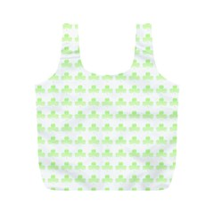Shamrock Irish St Patrick S Day Full Print Recycle Bags (M)