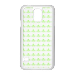 Shamrock Irish St Patrick S Day Samsung Galaxy S5 Case (White)