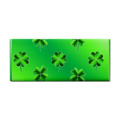 Shamrock Green Pattern Design Cosmetic Storage Cases