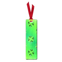 Shamrock Green Pattern Design Small Book Marks